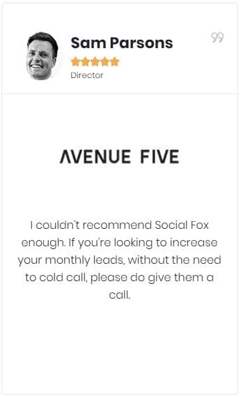 client testimonial - avenue five