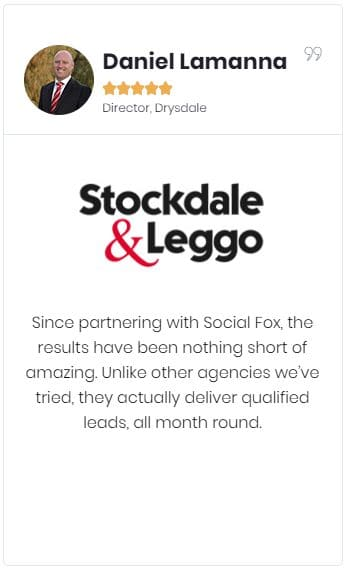 client testimonial - stockdale and leggo