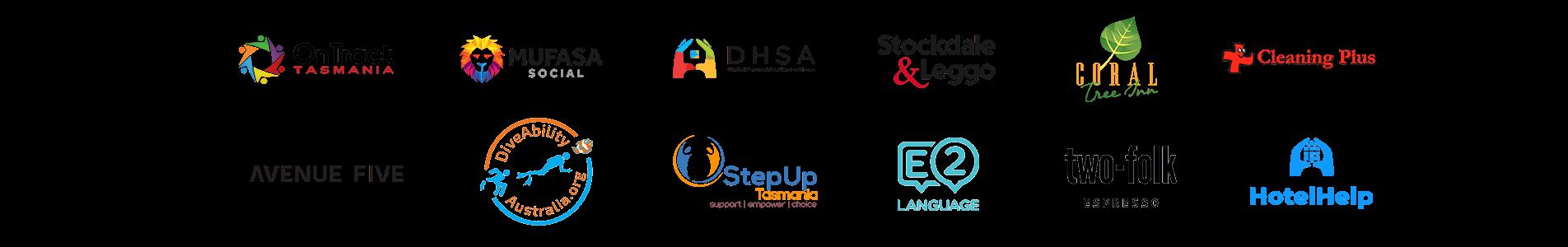 social fox client logos
